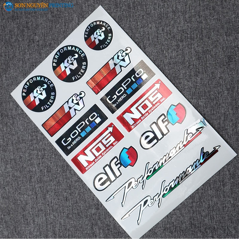 Decal logo, sticker