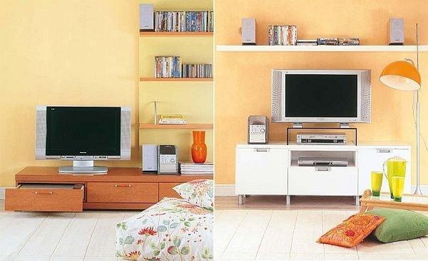 Cách bố trí sofa, bàn trà và kệ tivi hợp lý cho phòng khách 1
